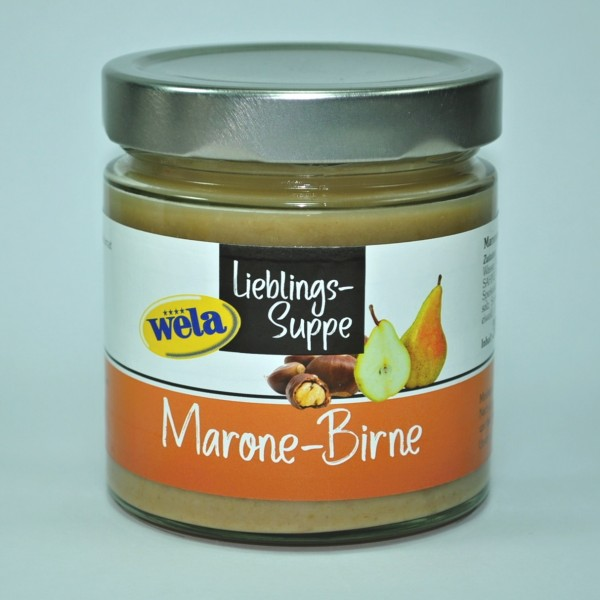 "4er-Set Lieblings-Suppe ""Marone-Birne"""