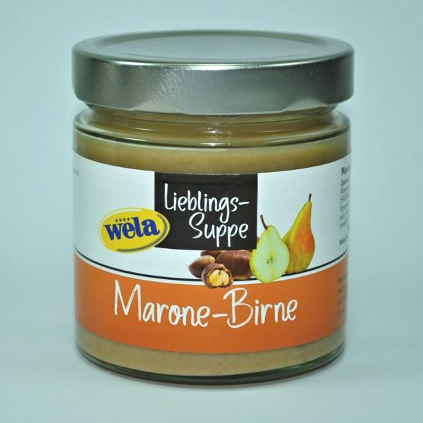 """Lieblings-Suppe """"Marone-Birne"""""""