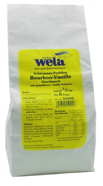 "Schlemmer-Pudding ""Vanille-Geschmack"""