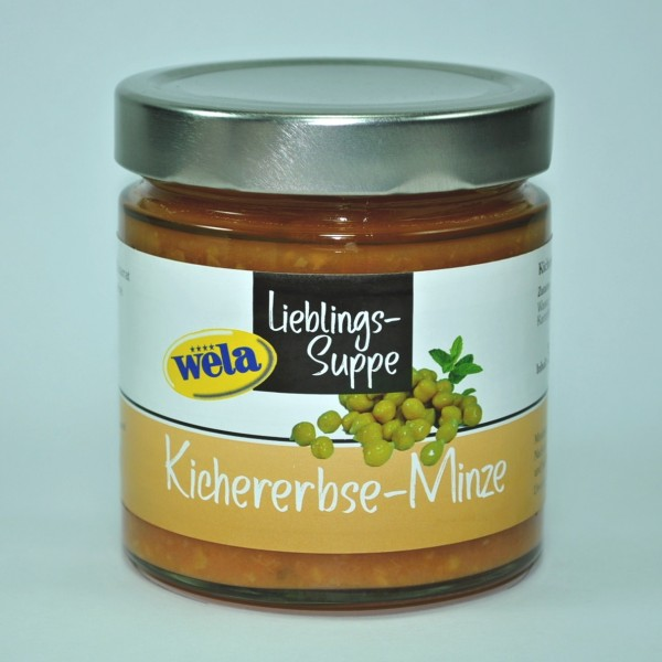 """4er-Set Lieblings-Suppe """"Kichererbse-Minze"""""""