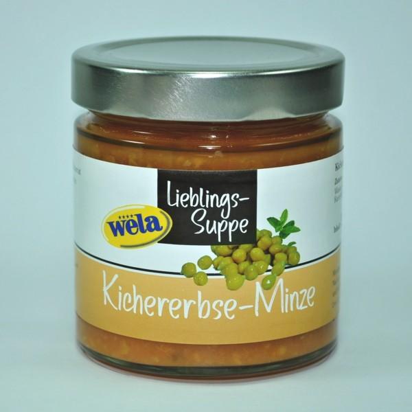 "Lieblings-Suppe ""Kichererbse-Minze"""