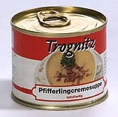 Pfifferling-Cremesuppe