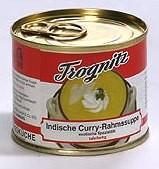 Indische Curry-Rahmsuppe