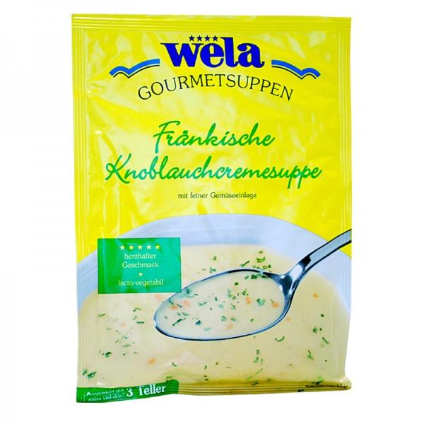 Gourmet Fränkische Knoblauchcremesuppe