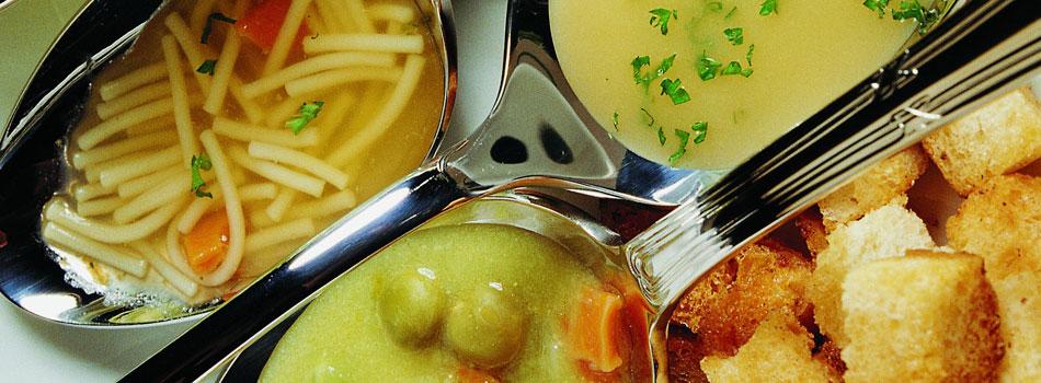 Kochfertige Suppen und Eintöpfe