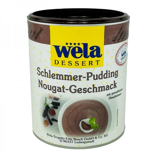 Schlemmer-Pudding Nougat-Geschmack