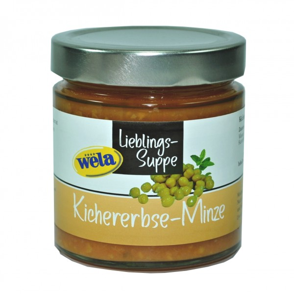 "4er-Set Lieblings-Suppe ""Kichererbse-Minze"""
