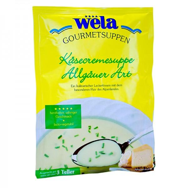Gourmet Käsecremesuppe