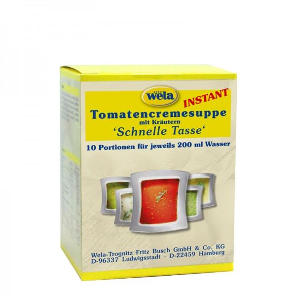 Tomatencremesuppe 'Schnelle Tasse'