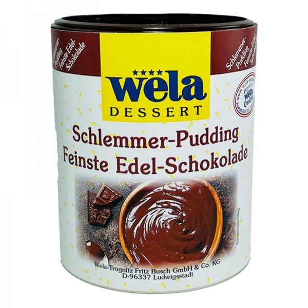 Schlemmer-Pudding Feinste Edelschokolade