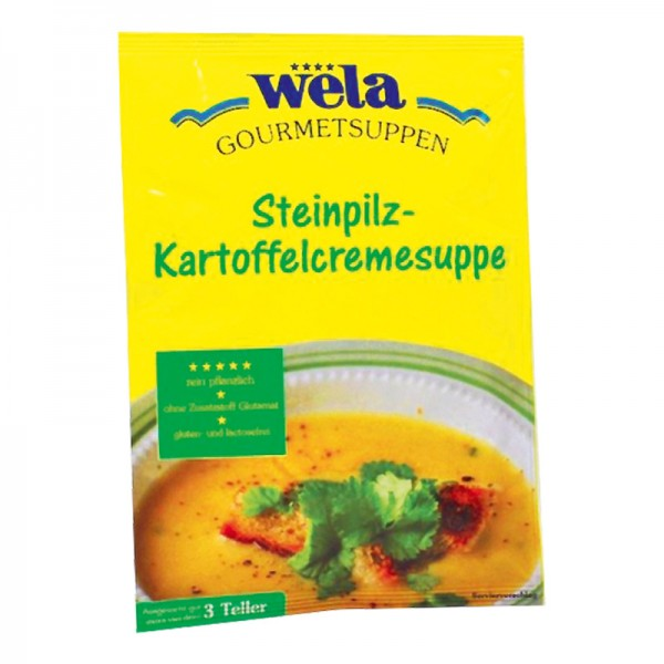 Gourmet Steinpilz-Kartoffelcremesuppe