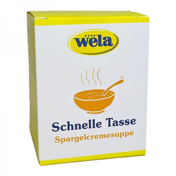 Spargelcremesuppe 'Schnelle Tasse'
