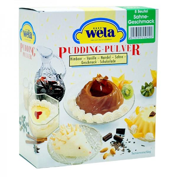 Sahne-Pudding