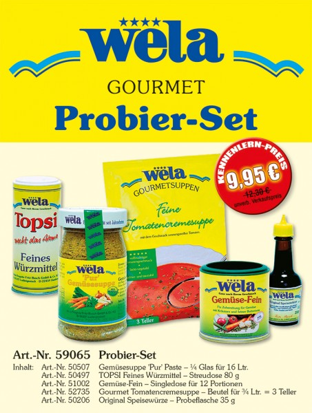 Gourmet Probier-Set