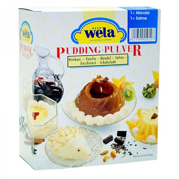 Pudding sortiert