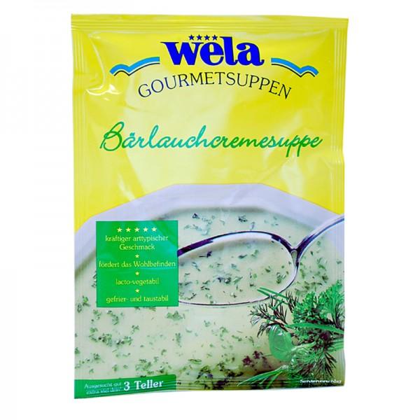 Gourmet Bärlauchcremesuppe
