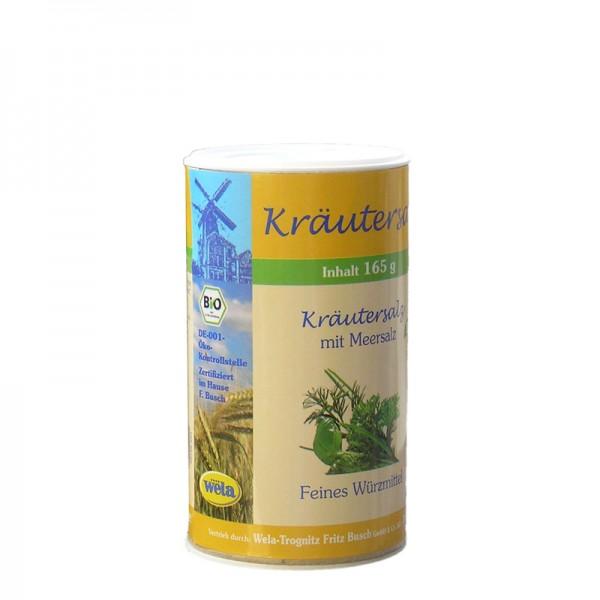 Bio Kräutersalz mit Meersalz