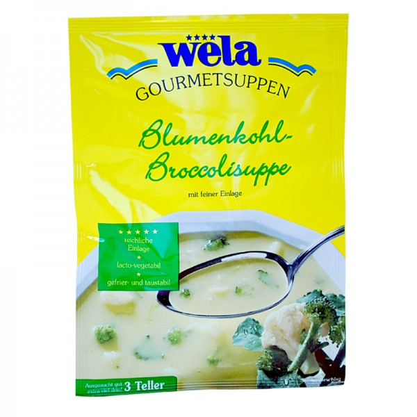 Gourmet Blumenkohl-Broccolisuppe
