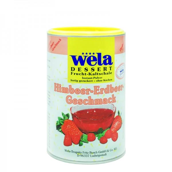 Frucht-Kaltschale Himbeer-Erdbeer-Geschmack